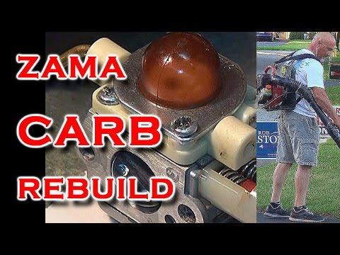 Zama Carburetor ReBuild On Homelite BP250 Blower YouTube