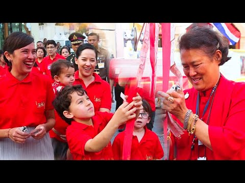 ทูลกระหม่อมยาย'กรมสมเด็จพระเทพฯ' เสด็จฯตรุษจีนเยาวราช