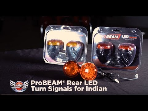 ProBEAM® Red or Amber Rear LED Turn Signals for Indian® Motorcycles