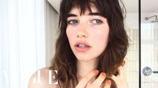 Model Grace Hartzel Gets the Vogue Girl Look | Beauty Secrets | Vogue thumbnail