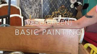 Basics of Painting with Chalk Paint® decorative paint by Annie Sloan