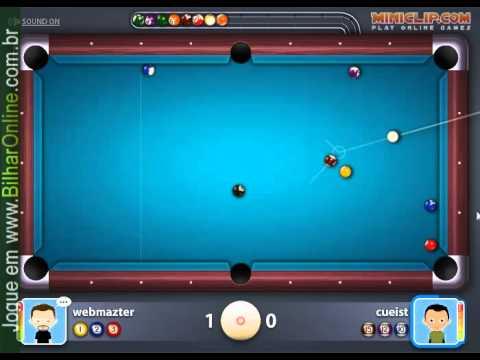 jogo de sinuca multiplayer online