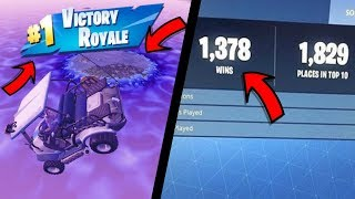 How to WIN EVERY Fortnite game with this GOD MODE GLITCH! 100% WIN EVERY GAME