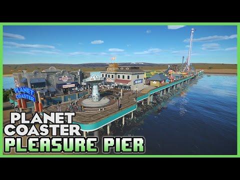 RECREATION! Galveston Island Historic Pleasure Pier! Park Spotlight 52 #PlanetCoaster