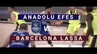 #Playoff 5. Maç: Anadolu Efes - Barcelona Lassa