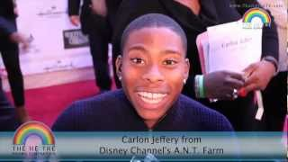 Carlon Jeffery from Disney Channel:  On the Spot Challenge with THT Kids! Thumbnail