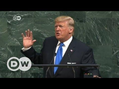 Trump slams North Korea, Iran in maiden UN speech | DW English