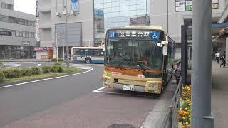 神奈川中央交通東 大和営業所 三菱ふそう新型エアロスター 新かなみんバス や84号車 中山駅北口にて、