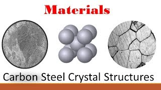Materials (Part 2: Carbon Steel Crystal Structure)