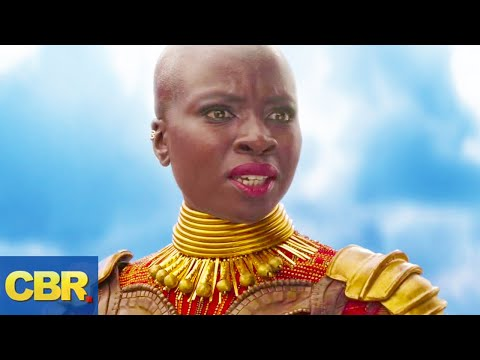 What Nobody Realized About Okoye In Marvel Avengers Infinity War And Black Panther