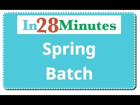 introduction-to-spring-batch-in-5-minutes