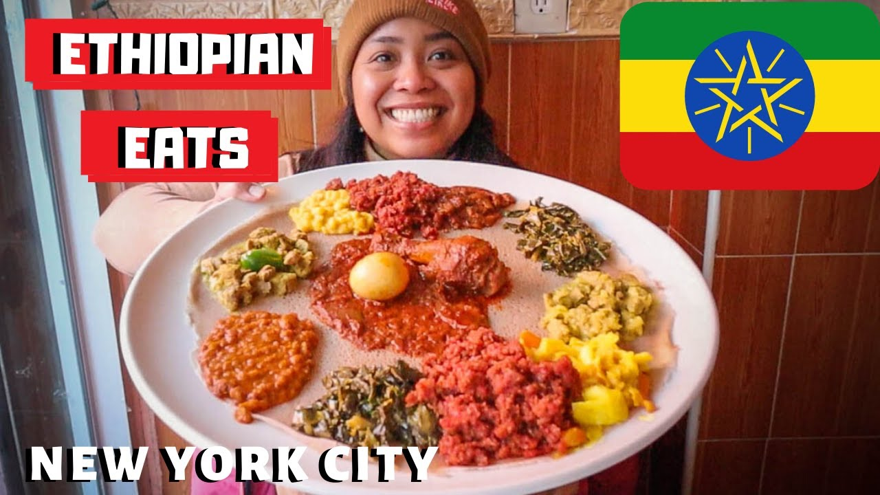Best ETHIOPIAN Food in New York? NYC's FIRST Ethiopian Food Truck and MORE