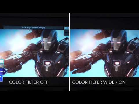 JVC Rs2000/NX7 HDR Color Filter BEFORE/ AFTER