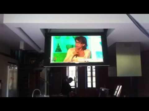 Integration téléviseur plafond Toulouse.MOV