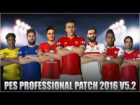 Professionals Patch 5.2 PES 2016 PC DOWNLOAD