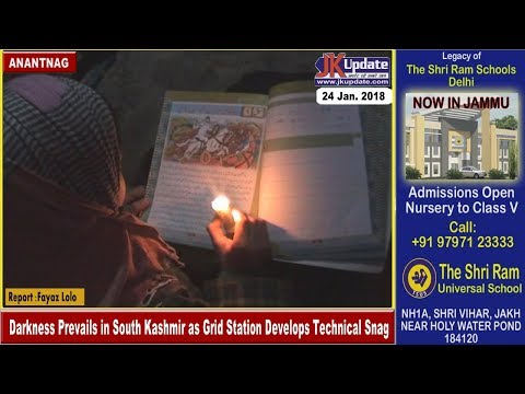 Darkness Prevails in South Kashmir as Grid Station Develops Technical Snag