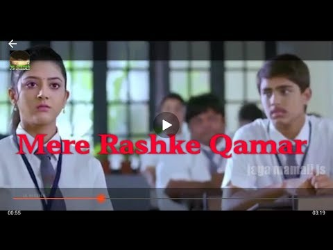 Mere Rashke Qamar-A New Heart Touching Song With A Beautiful Love Story.
