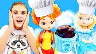 Сказочный патруль готовят кексы. Видео с куклами - Игры готовить - Мультики для девочек