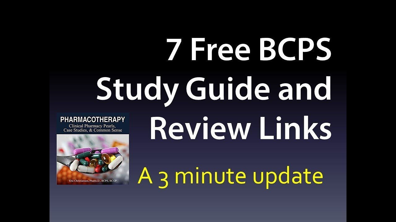 BCPS Study Guide and BCPS Review Free Materials in 7 places