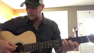 Drunk Me-Mitchell Tenpenny (guitar lesson) (chords in description) Video