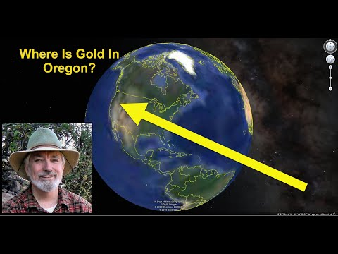Where is Gold found in Oregon?