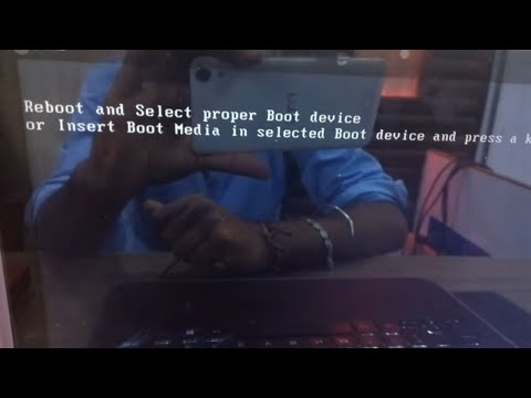 reboot and select proper boot device 2017 - YouTube