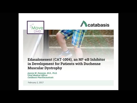 [Webinar] MoveDMD Trial: Catabasis Provides Update - February 2017