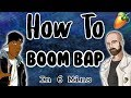 From Scratch A Boom Bap Song In  Minutes Fl Studio Tutorial   Mp3 - Mp4 Download