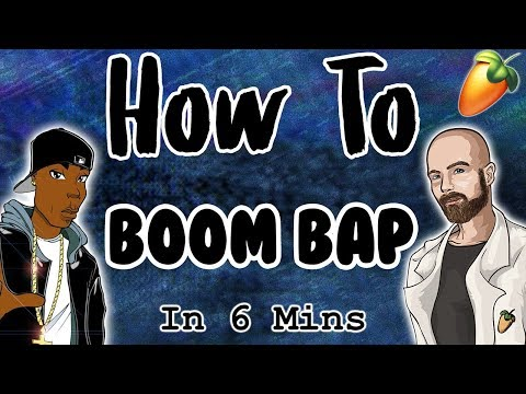From Scratch: A Boom Bap Song in 6 Minutes | FL Studio Tutorial 2018