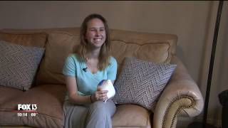 Teen, born without fingers, gets transplants