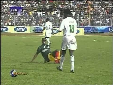 Nigeria u20 vs Congo u20  Muyedeen Oyewole (Nigerian Number 4) & Suraj Sodiq  (Nigerian Number 2)
