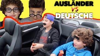 AUSLÄNDER vs DEUTSCHE #3 CABRIO FAHREN 😂 LUSTIGSTES VIDEO EVER CRASHBROS2
