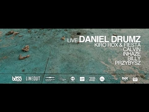 Daniel Drumz live act / Part 2. Bass And Culture event, 29.03.2014 Szczecin