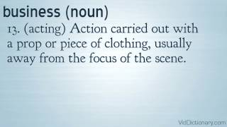 business - definition