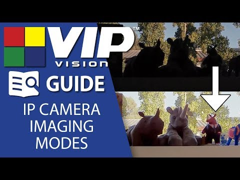 VIP Vision Tutorials: Network camera imaging modes - BLC, HLC, WDR