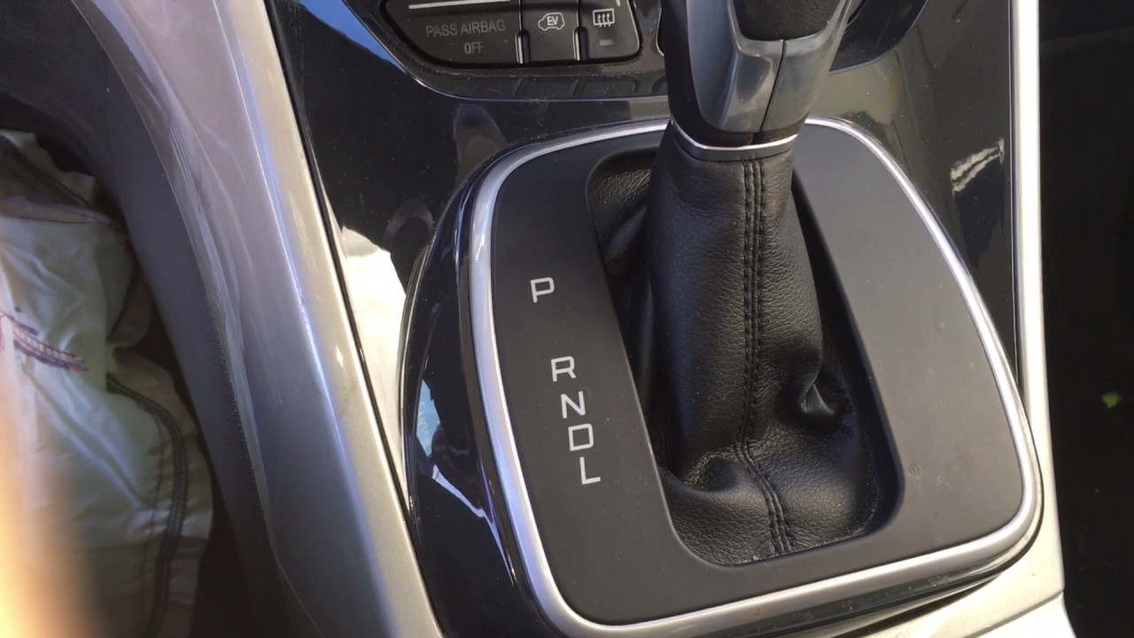 how to get a 2013 ford c-max energi hybrid into neutral - youtube