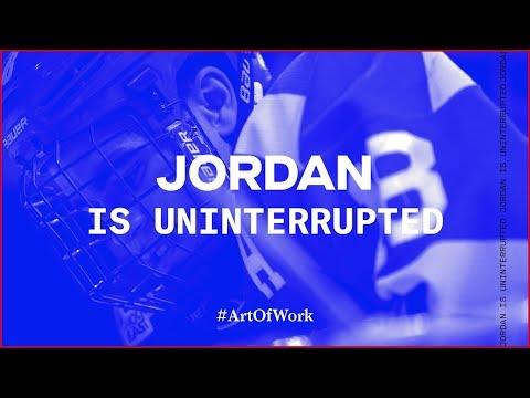 Jordan Greenway Makes Hockey History | ART OF WORK