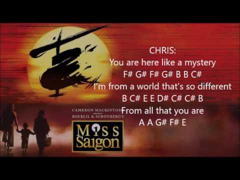 Sun and Moon Lyrics/Notes [Miss Saigon] Flute