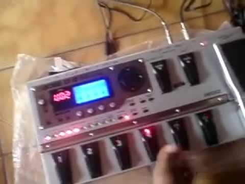Guitar effect patches for the Boss ME-25