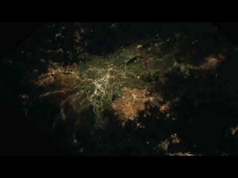 Ciudades de noche desde el espacio!!!