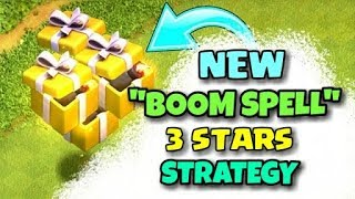 "[BOOGOWILOON] ""BOOM SPELL"" NEW 3 STARS STRATEGY 