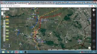 Обзор карты боевых действий на Донбассе  от 7.10.2016 г.(, 2016-10-08T06:33:29.000Z)