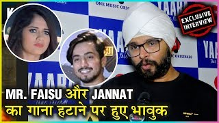 Ramji Gulati EMOTIONAL On Mr Faisu & Jannat Zubair Song REMOVED From YouTube Tere Bin Kive