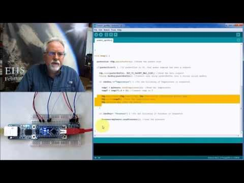 Arduino with Python LESSON 17: Transferring Data over Ethern