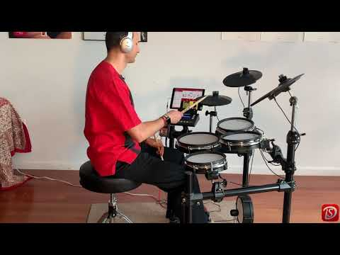 Drum School App Tutorial with the Simmons SD600 electronic drum kit.