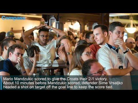 It's not coming home: Croatia beats England 2 - 1