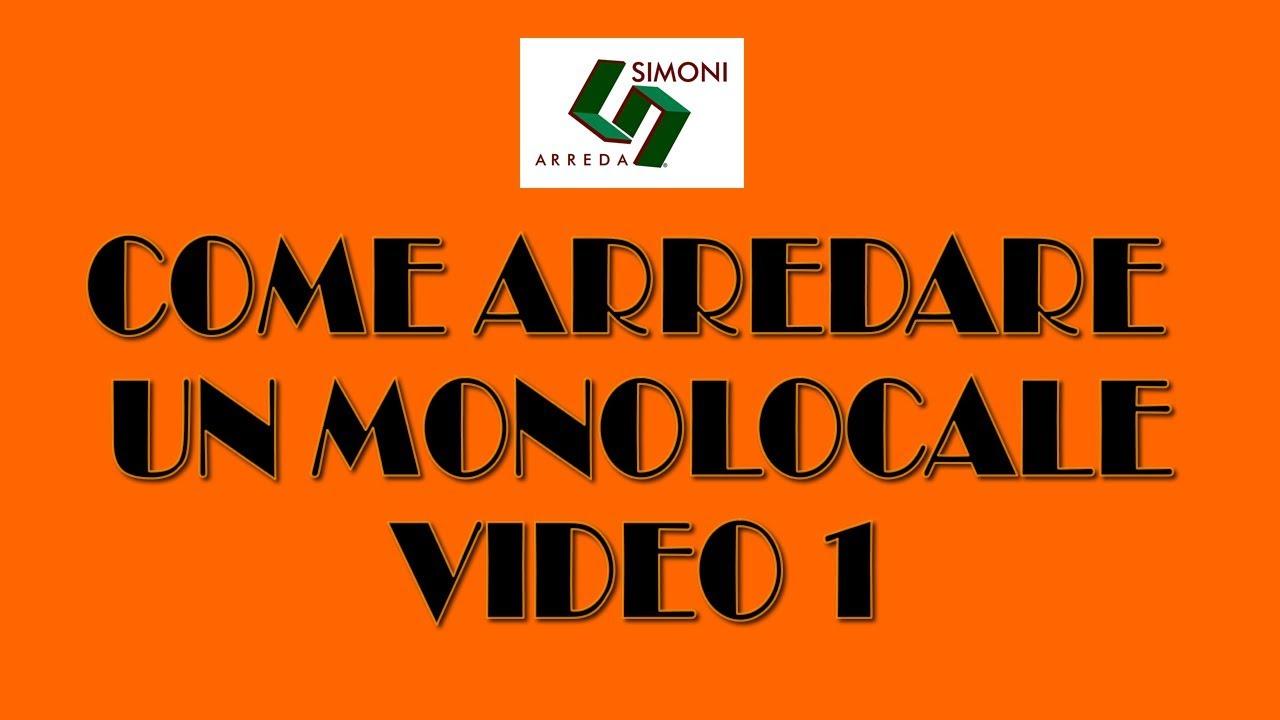 Come arredare un piccolo monolocale video1 youtube for Simoni arreda milano