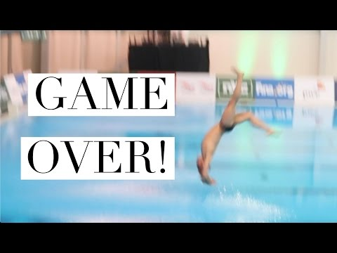 WIPEOUT!!! | Cream Fights and ANOTHER MEDAL! I Tom Daley