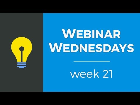 Webinar Wednesdays - Week 21 - Brilliant Directories Webinars (7.26.2017)