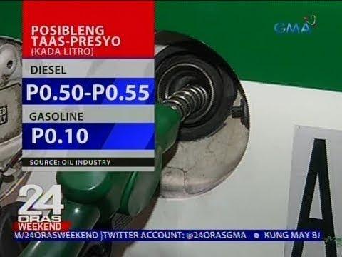 24 Oras: Taas-presyo sa petrolyo, nakaamba ngayong linggo